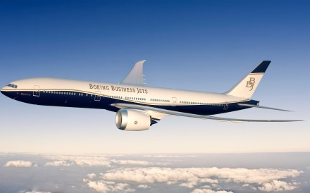 Boeing Business Jets has been turning Boeing's commercial airliners into opulent private jets for the world's wealthy elite since 1996. The new 777X was launched in Dubai on Monday. Photo: Boeing