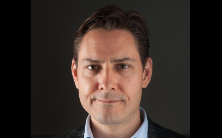 Michael Kovrig, seen here in a file photograph taken last year, is one of two Canadians detained in China. Photo: AFP