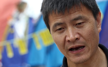 Zhou Fengsuo runs a human rights organisation that advocates for and supports political prisoners in China. Photo: KY Cheng
