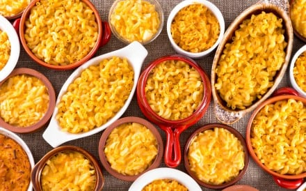 Cheese and macaroni are a comfort food, but you can make it healthier by choosing wholegrain pasta.