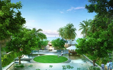 Capella Sanya offers 190 exquisitely-designed rooms and villas amid lush gardens, overlooking the South China Sea.