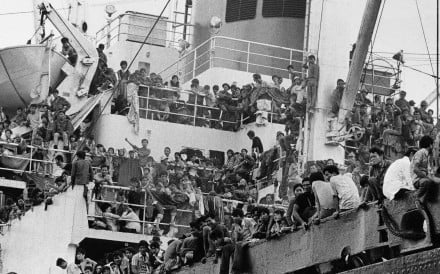 """A minister at the British Foreign Office said the Vietnamese government was """"profiteering appallingly"""" from refugees. Photo: AP"""