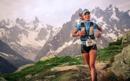 Audrey Tanguy puts pressure on herself to perform, even before she became a top runner. Photo: Handout