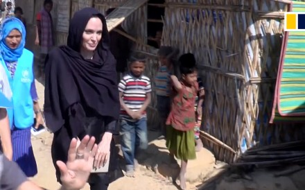 Hollywood superstar Angelina Jolie visited Rohingya refugee camps on the Myanmar-Bangladesh border on February 4. As special envoy of the United Nations High Commissioner for Refugees, Jolie talked...