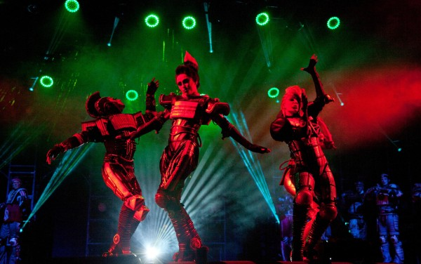 Rock and roller: Starlight Express 3-D is coming to town