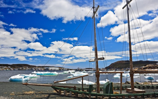Frozen assets: hunting icebergs in Newfoundland
