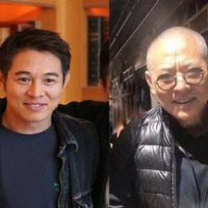 Martial arts superstar Jet Li before (left) and now. The kung fu action movie star is suffering from spinal problems and hyperthyroidism. Photo: Facebook