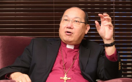 News of the planned consultation came a day after the Most Reverend Paul Kwong, head of the local Anglican flock, said it would be irresponsible for Christians to vacate their election committee seats. Photo: Edward Wong