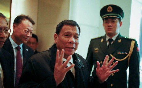 visita di stato in Cina di Duterte