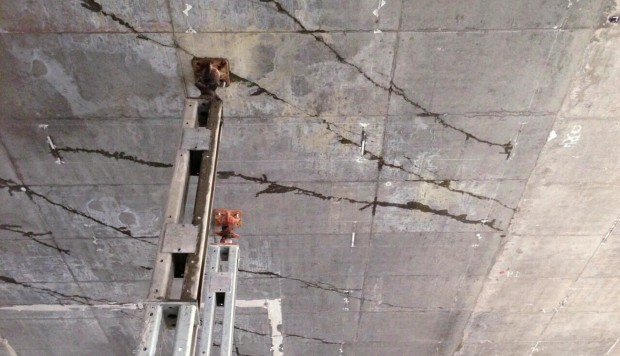 Deep cracks found in ceiling of hong kong high speed for High style motoring atv