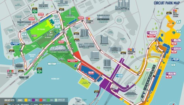 Singapore Grand Prix Guide From Zone 4 Walkabout Tickets