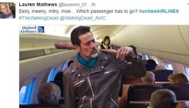 six memes about united airlines incident that have gone