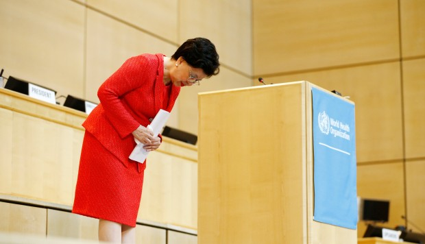 World Health Organisation chief Margaret Chan leaves big shoes to fill