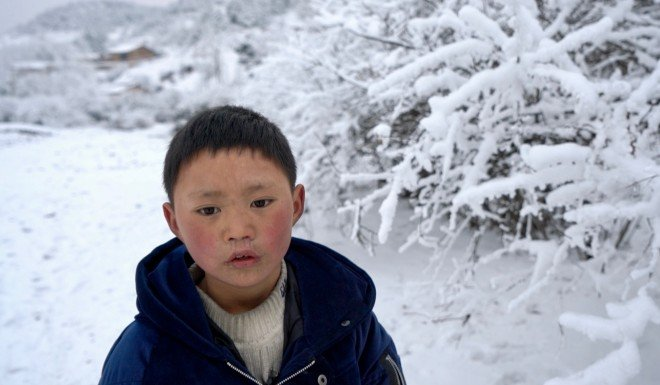 Wang Fuman says what he most wants is for his mother to return.