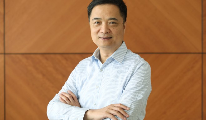 Li Zhu, head of the Tsinghua Alumni TMT Association.