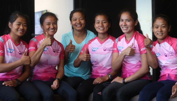 Oxfam Trailwalker Mira Rai Empowers The First Nepalese Women S Team To Run Famous 100km In Hong Kong South China Morning Post
