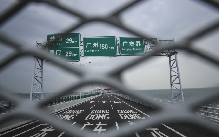 Congestion And Bus Arrangements Among Worries Before Opening Of Hong Kong's New Bridge To Macau And Mainland China