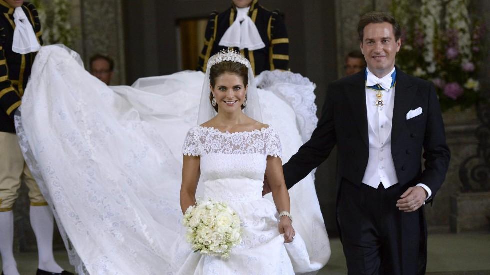 Wedding princess madeleine sweden married see gown