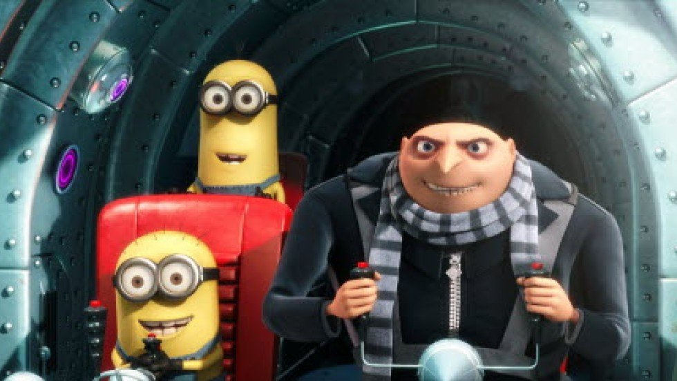 The main characters of 'Despicable Me 2'. Photo: AP