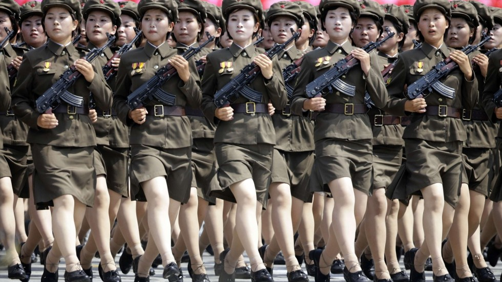 North Korea Military Porn - High-level China delegation in North Korea for armistice celebration
