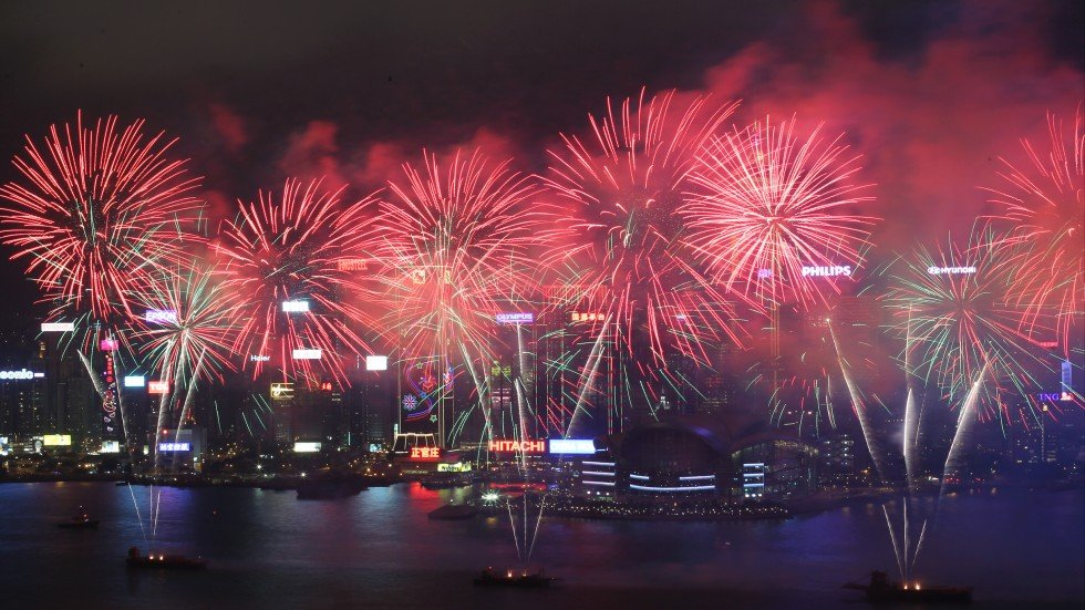 6 000kg Of Fireworks Arrive In Hong Kong Ready To Light