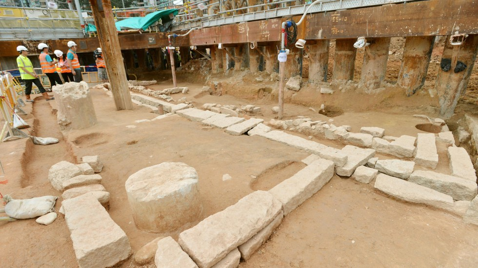 Excavation at MTR site could help prove Song dynasty     s links to       of