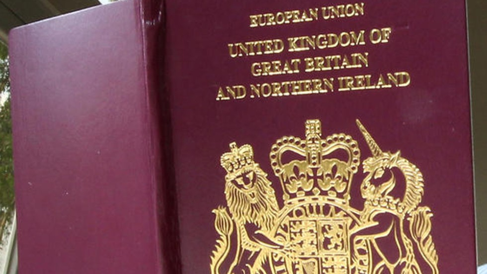 How do you renew a British passport in the United States?