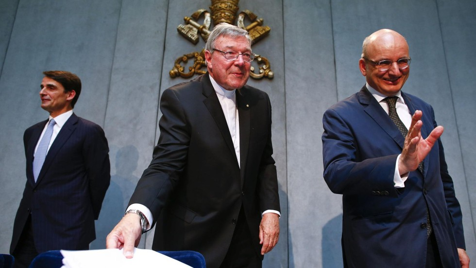 Image result for cardinal pell and chris patton