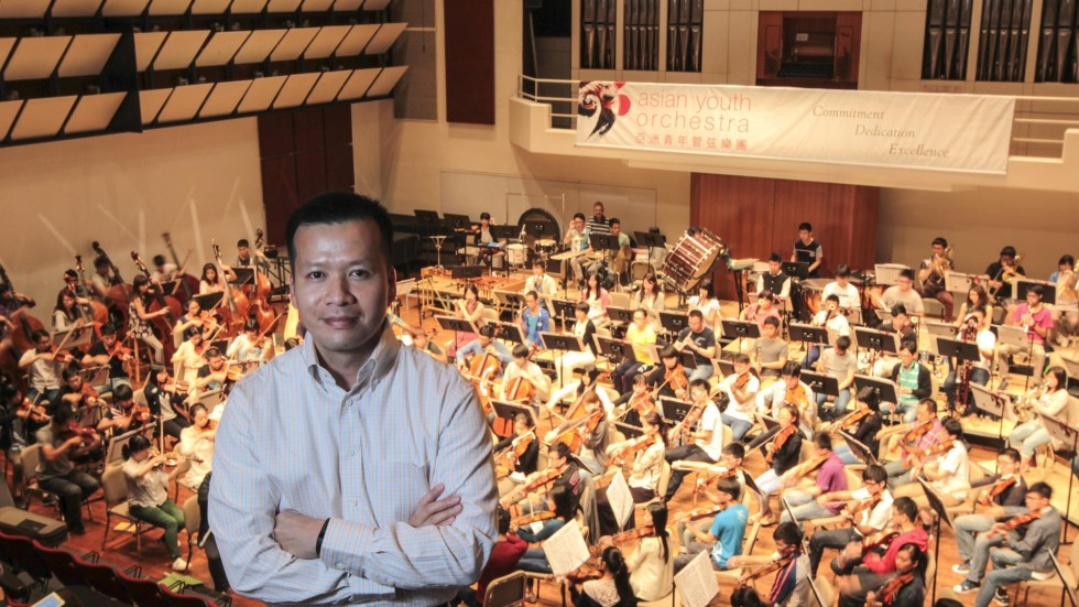 asian youth orchestra general manager comes to grips with