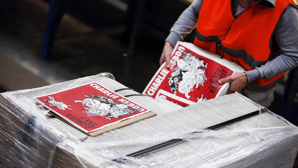 Charlie hebdo bites back at favourite foes with new issue south