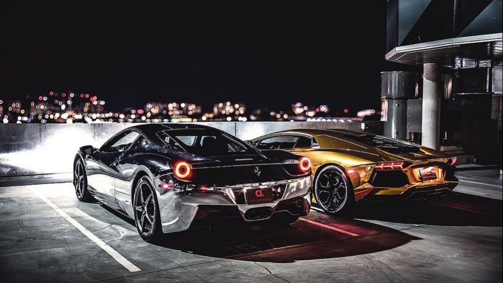 Chrome Ferraris and camo Lamborghinis: A wild ride through the ...