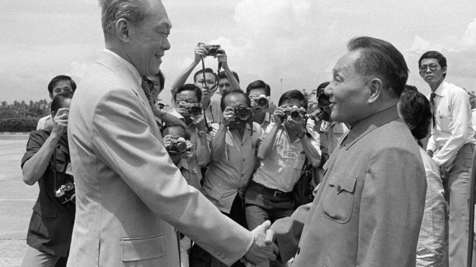 """Résultat de recherche d'images pour """"Deng Xiaoping singapore"""""""