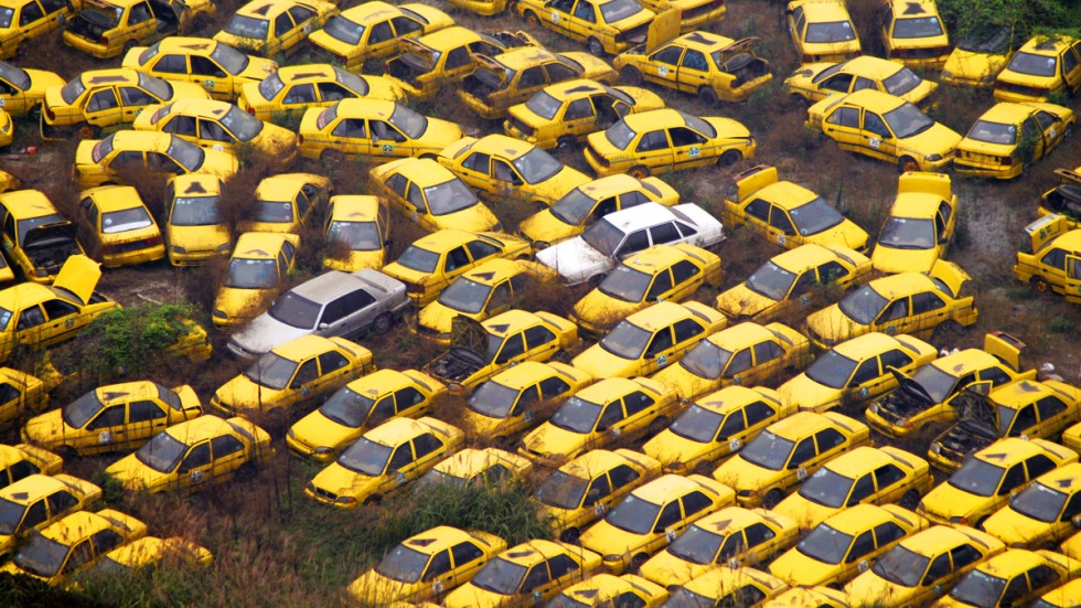 End of the road: why mountains of cars are filling up China\'s ...