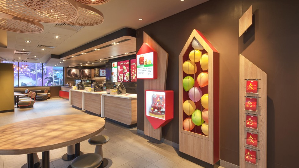 Mcdonalds Interior Design hong kong design house breaks the mcdonald's mould with style