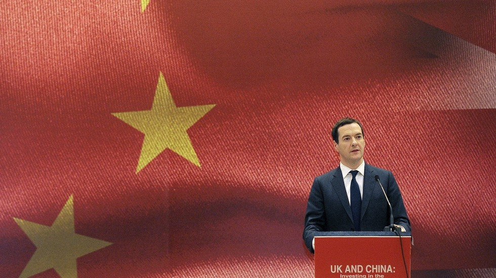 Image result for Man on a trade mission: Chancellor George Osborne addresses the Asian Financial Forum in Hong Kong earlier this week.