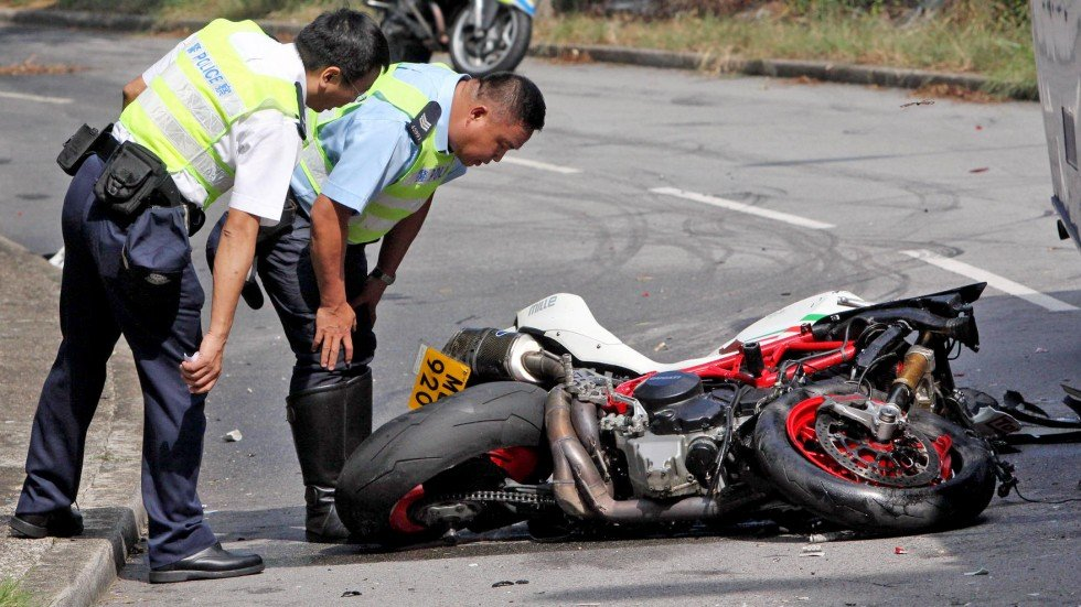 Motorcyclist killed in collision with tour bus in Tai Po ...