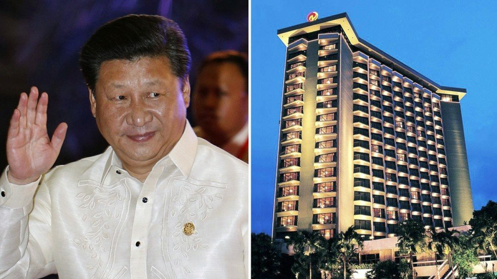 Plan B Fails >> Fit for a president: The hotel owned by one of Manila's richest men that is home to Xi Jinping ...