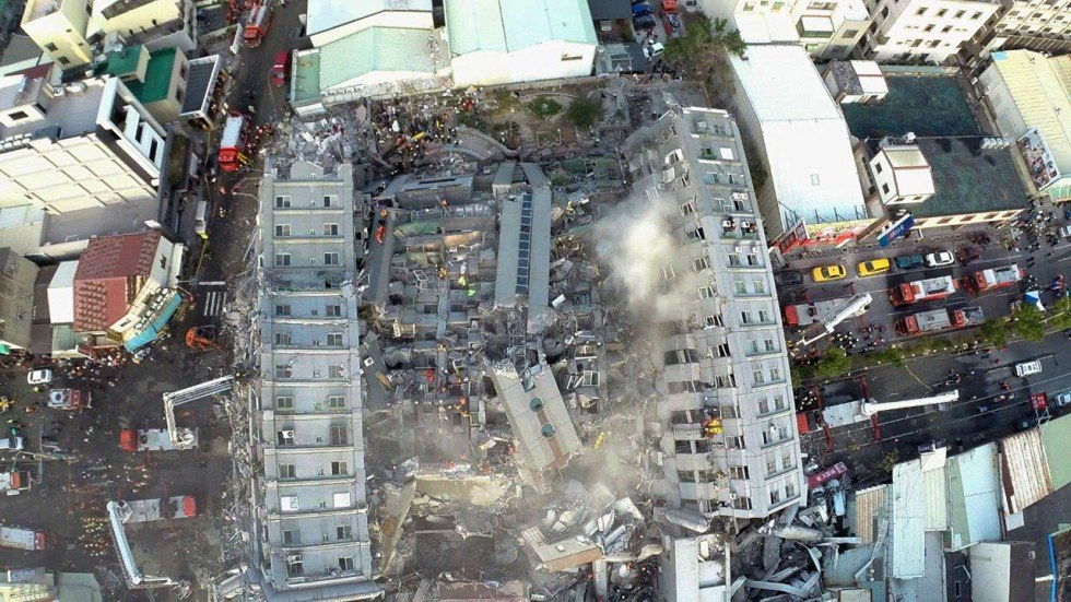 Building Collapse During Deadly Taiwan Earthquake Linked