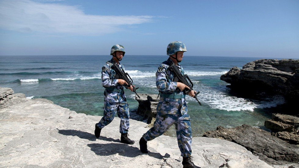 Sea Patrol Dunk Island: China's Military Is Prepared 'to Defend Sovereignty' In
