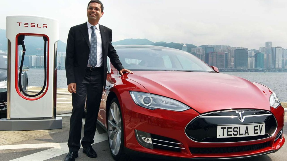 Electric Shock Tesla Cars In Hong Kong More Polluting
