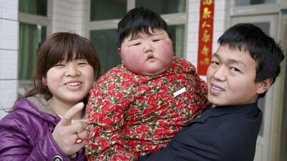Explosion In Childhood Obesity In China Worst Ever