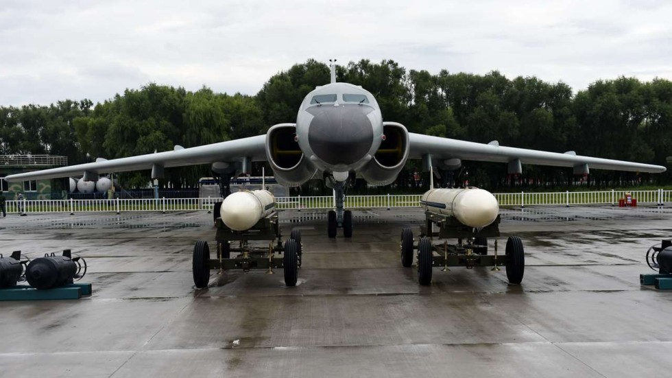China dispatches one of its largest air force fleets ever near South ...