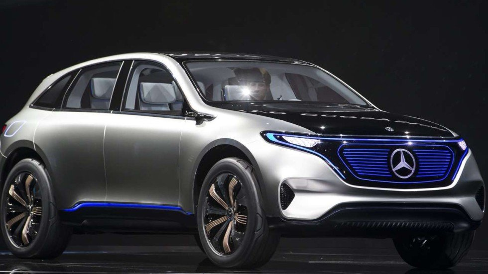 Mercedes Tesla Killer Electric Suv Coming In Expected