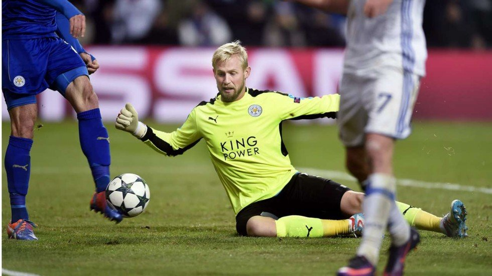 Image result for kasper schmeichel 2016-17