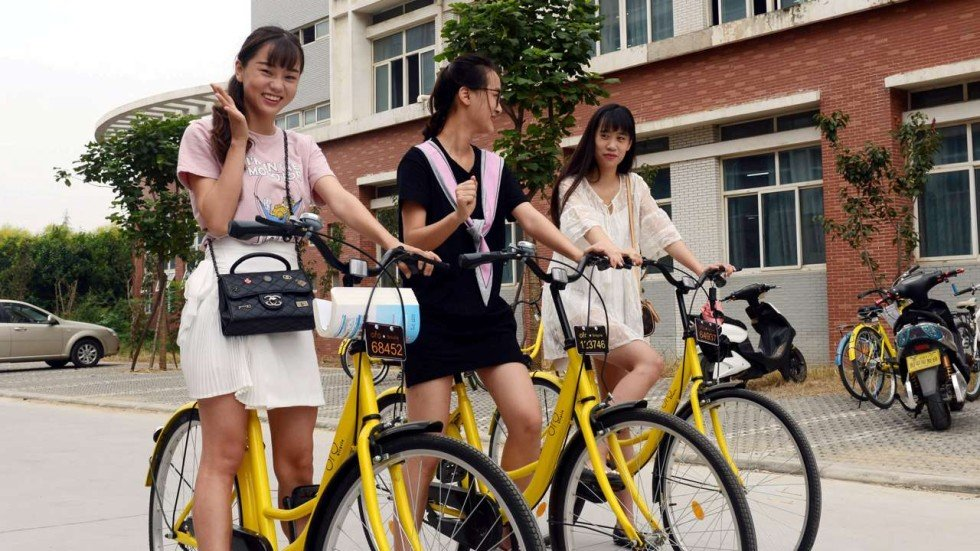Mobike Offers Chinese Commuters A Way To Beat The Traffic