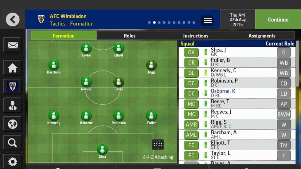 Review: Football Manager Mobile 2017