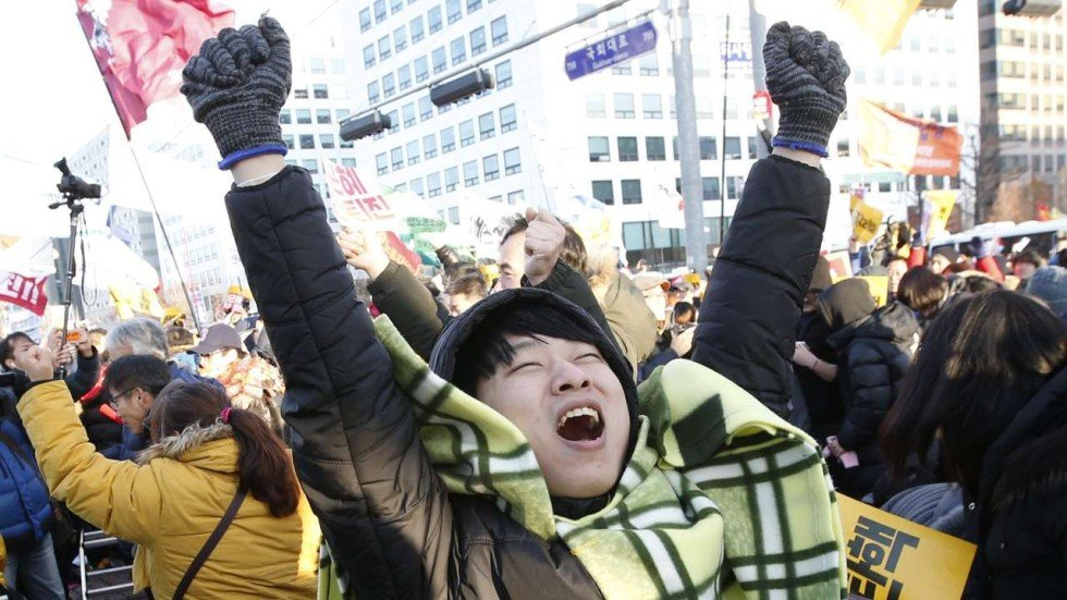 South Korea: How candlelight protests impeached a president