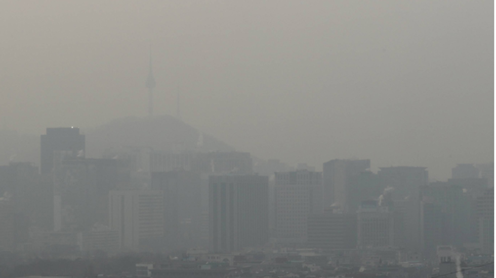 Health Alerts Issued As Fine Dust Blankets Korean Peninsula South China Morning Post