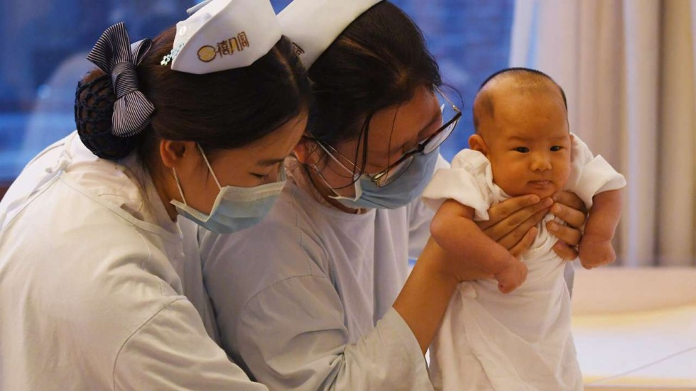 China Sees 13 Million More New Babies In 2016 But Workforce Shrinks As Population Ages