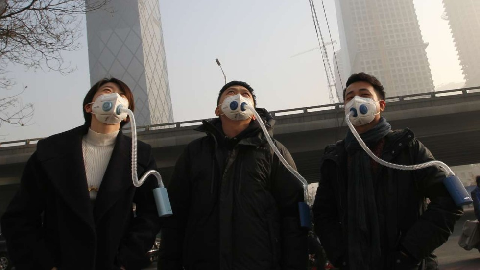 Why The Rich Breathe Easier In China S Choking Smog